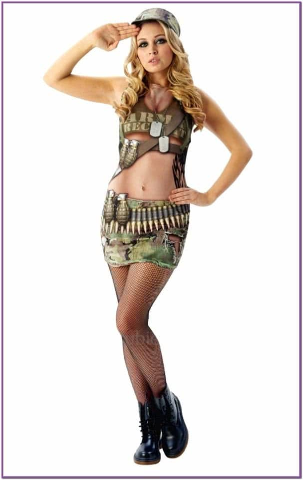 Армейский костюм Энни