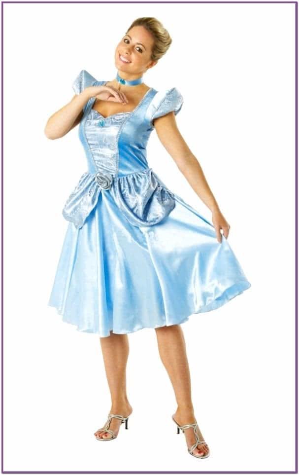 Атласное платье милой Золушки