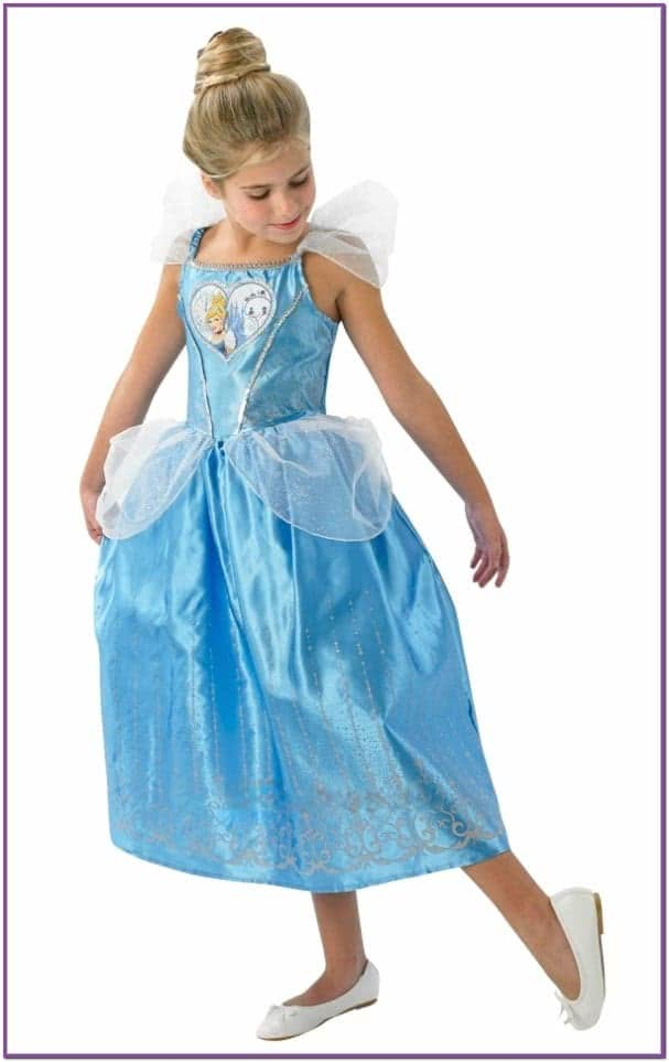Атласное платье Золушки