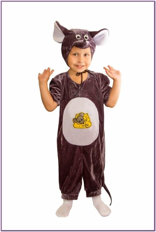 Бархатный костюм мышонка
