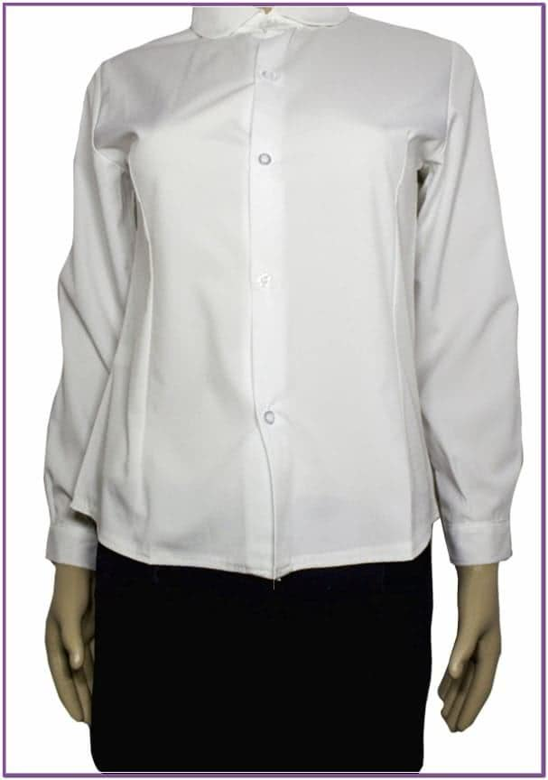 Белая рубашка стюардессы