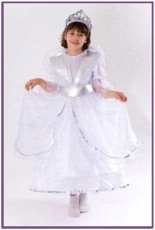Белый костюм Королевы