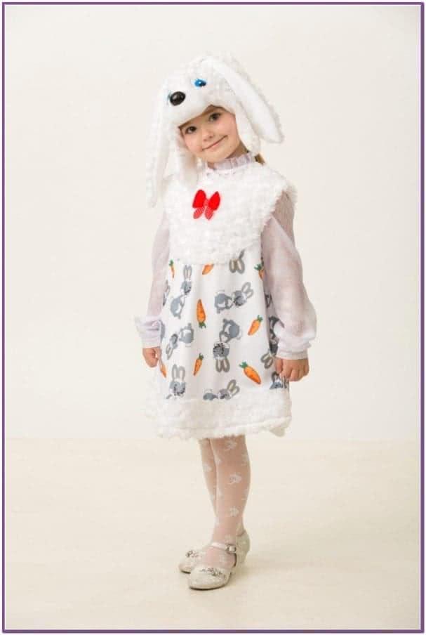 Белый костюм Зайки