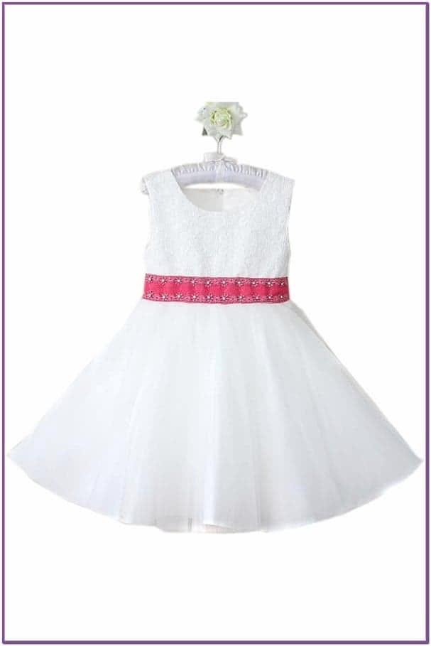 Белое платье для девочки