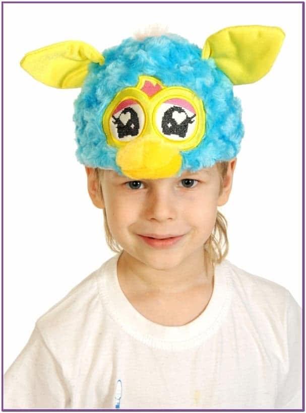 Бирюзовая шапочка Ферби