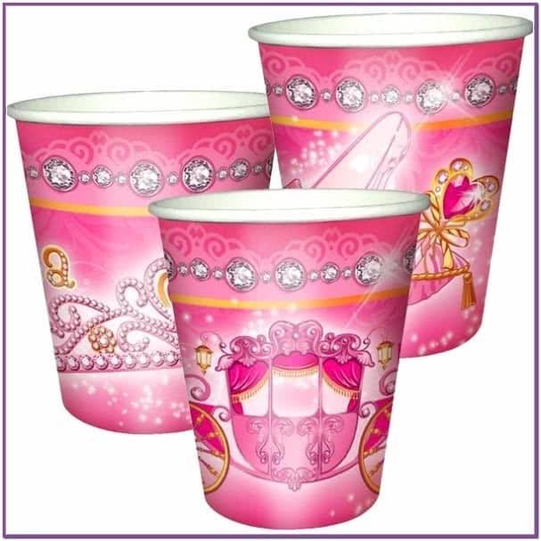 Бумажные стаканы Моя принцесса