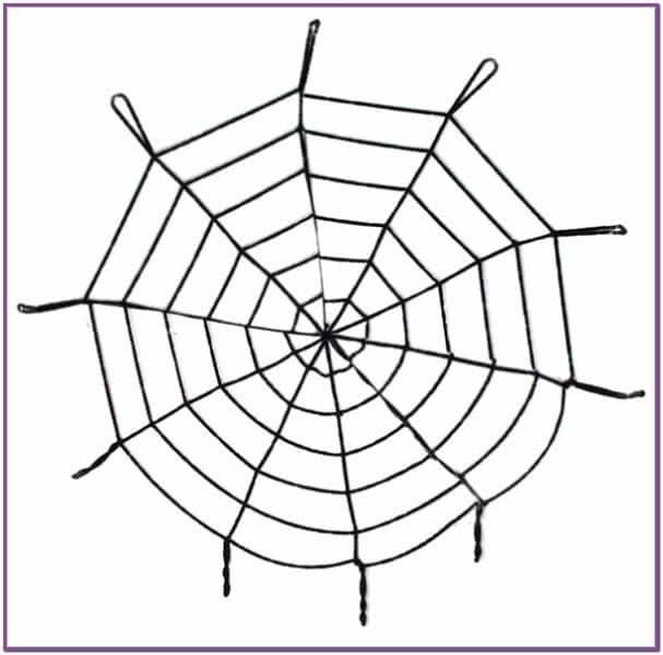 Черная паутина 1 метр 50 см