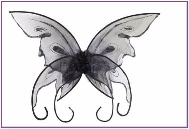 Черные крылья Бабочки