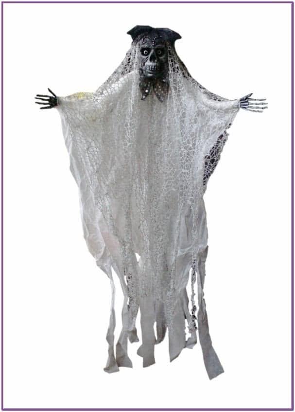 Декорация Белый Скелет Модник