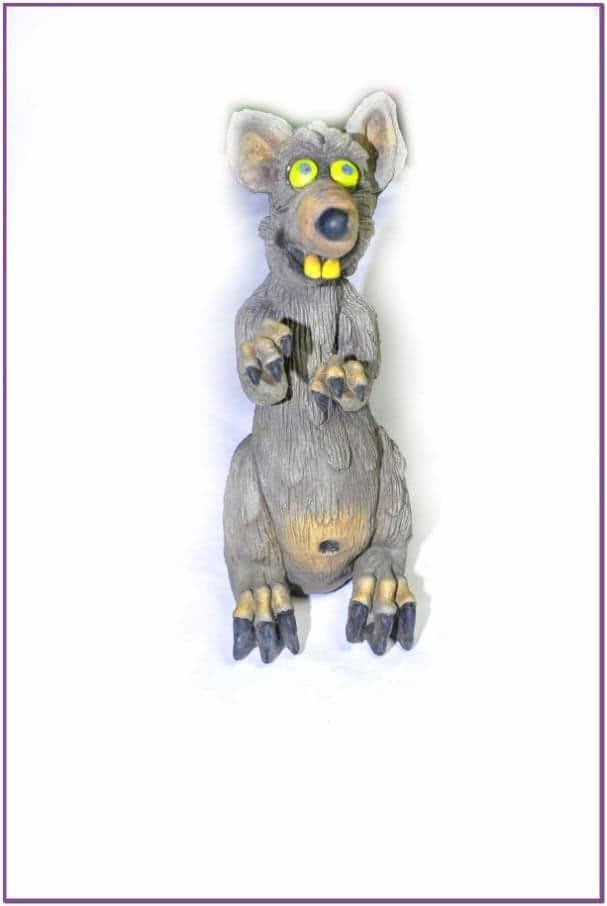 Декорация Веселая крыса