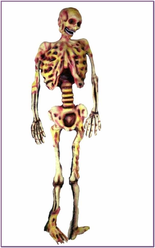 Декорация Желтый скелет