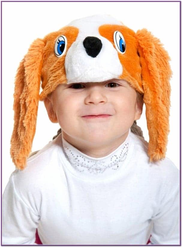 Детская маска Спаниэль