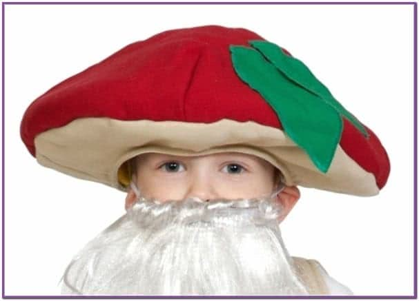 Детская шапка Гриб Боровик