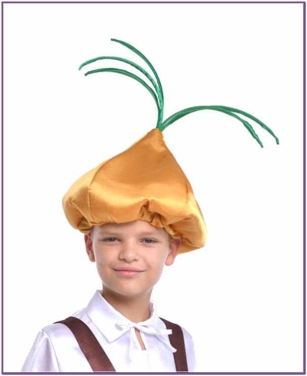 Детская шапка лука