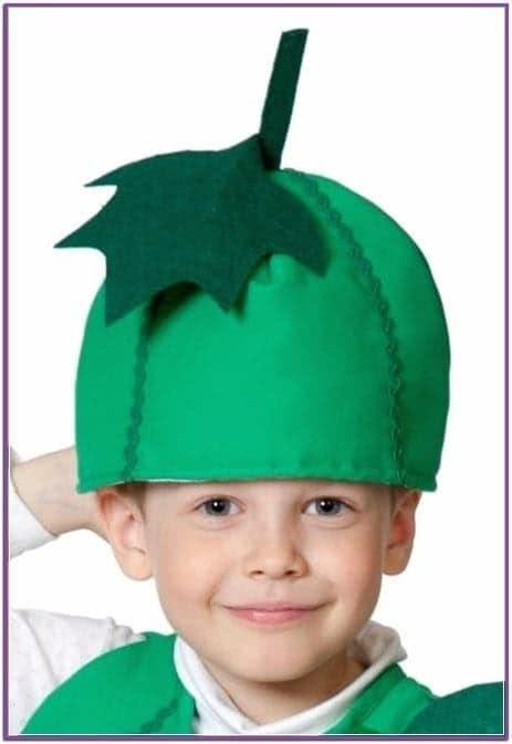 Детская шапка Огурец