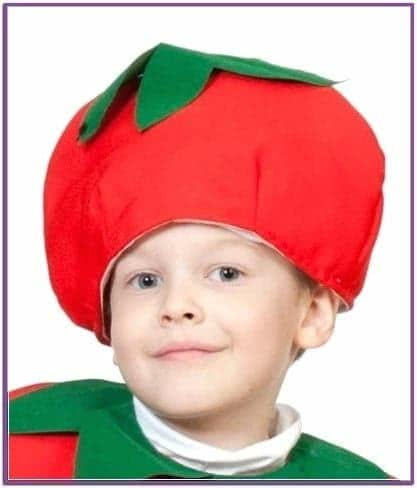 Детская шапка Помидора