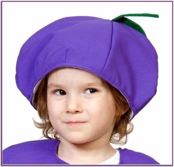 Детская шапка Слива