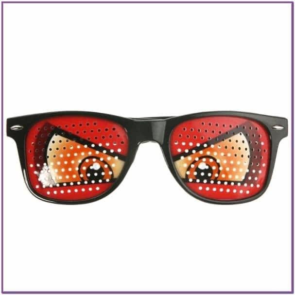 Детские очки злые глаза