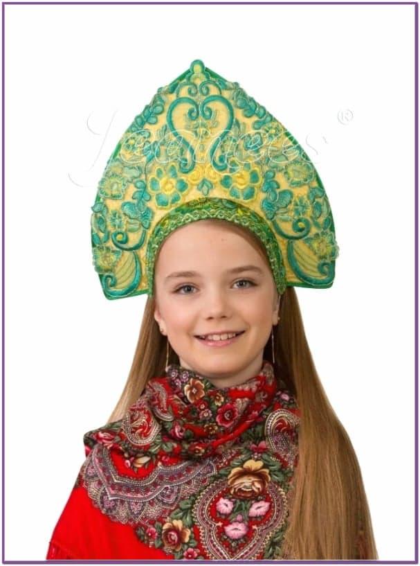 Детский кокошник Царица