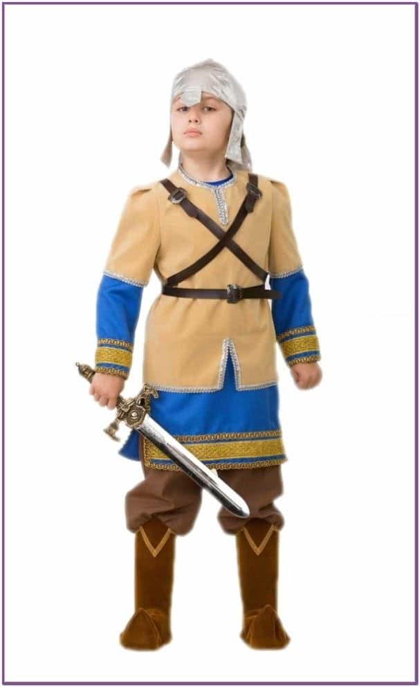 Детский костюм Алеши Поповича