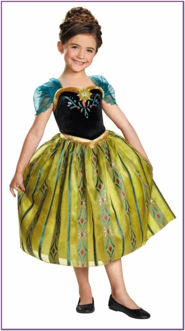 Детский костюм Анны Холодное сердце