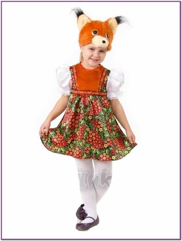 Детский костюм Белочки Златки