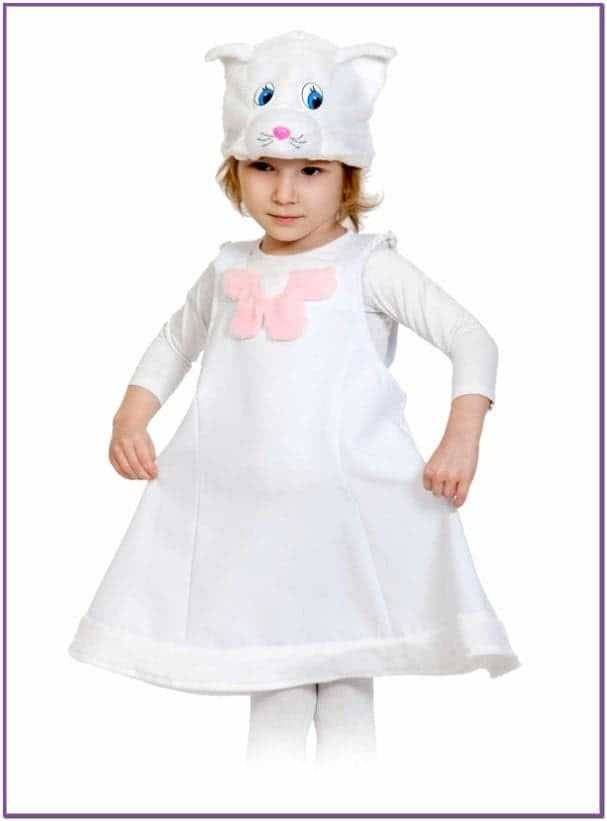 Детский костюм Белой кошки
