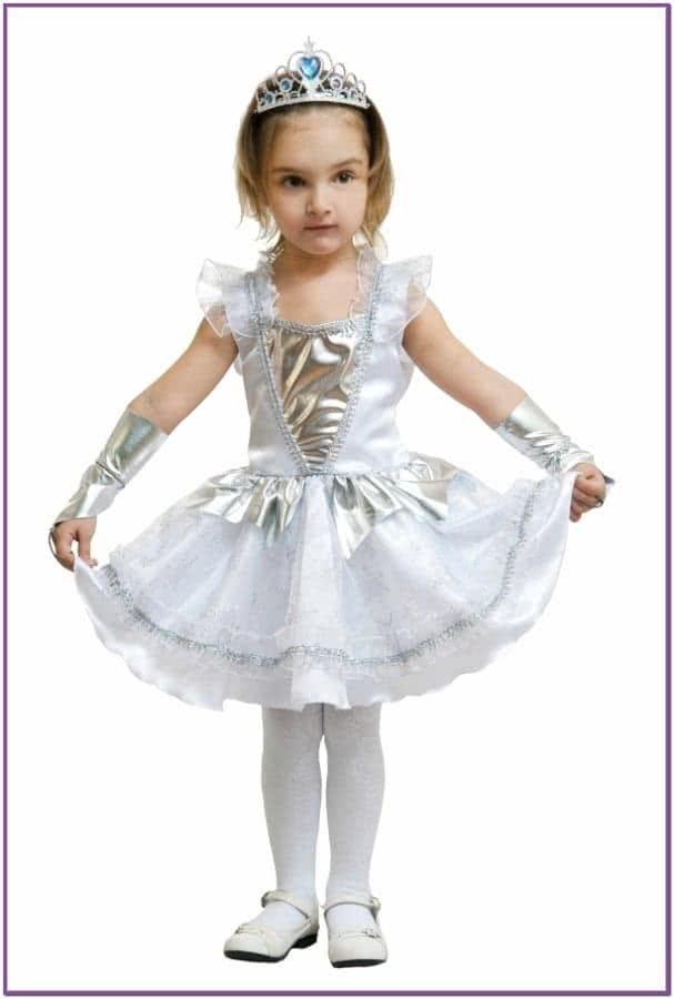 Детский костюм Белой Снежинки