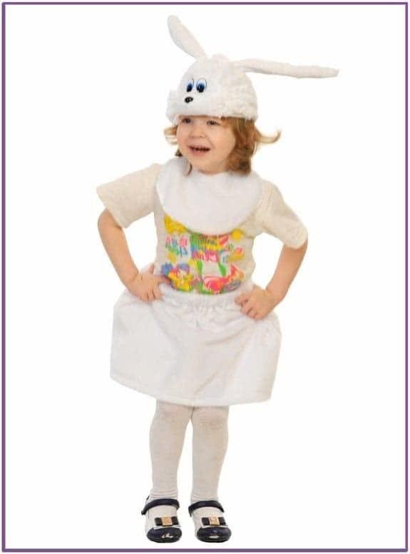 Детский костюм Белой Зайчишки