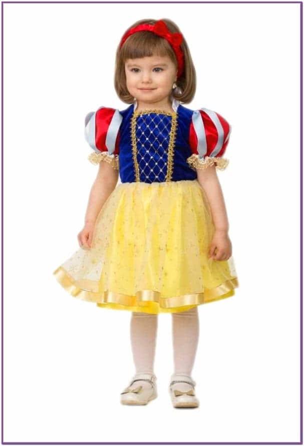 Детский костюм Белоснежки малышки