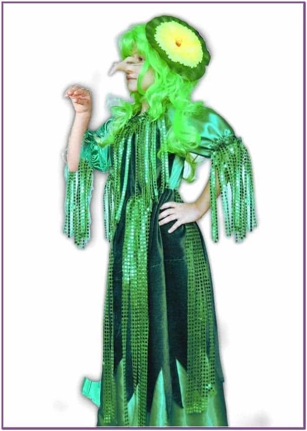 Детский костюм болотной Кикиморы