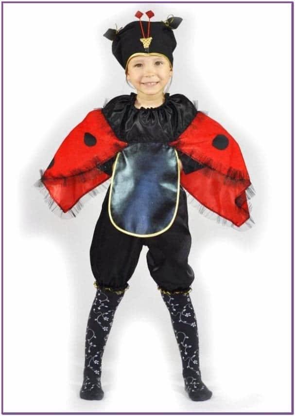 Детский костюм Божья коровка