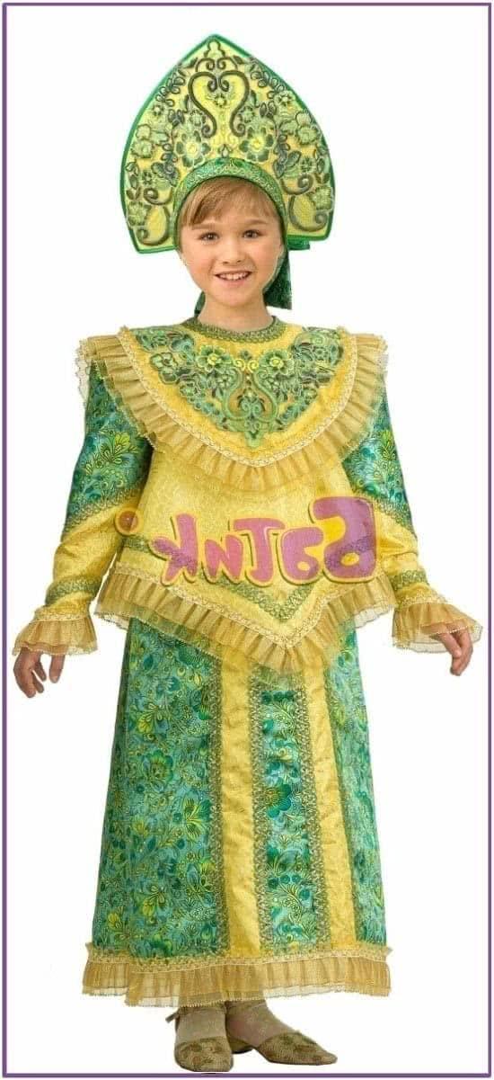 Детский костюм Царевны