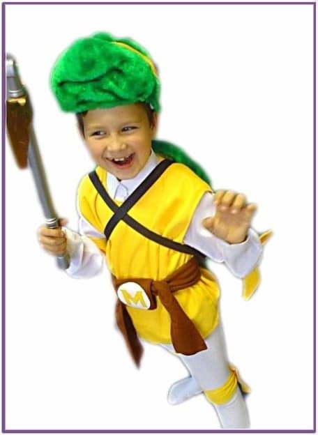 Детский костюм черепашки Микеланджело