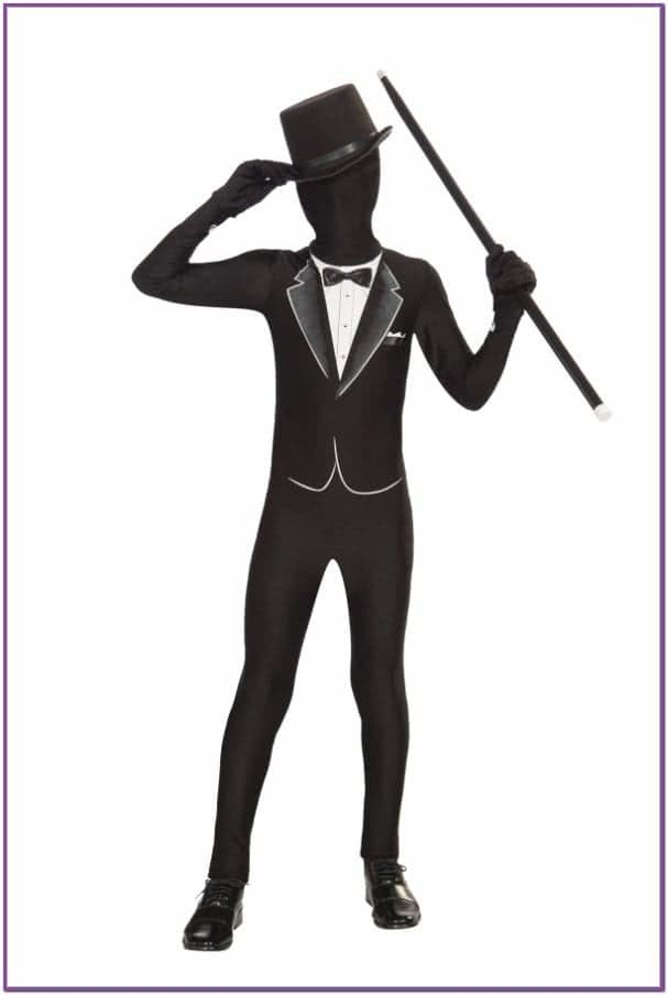 Детский костюм Черного джентльмена