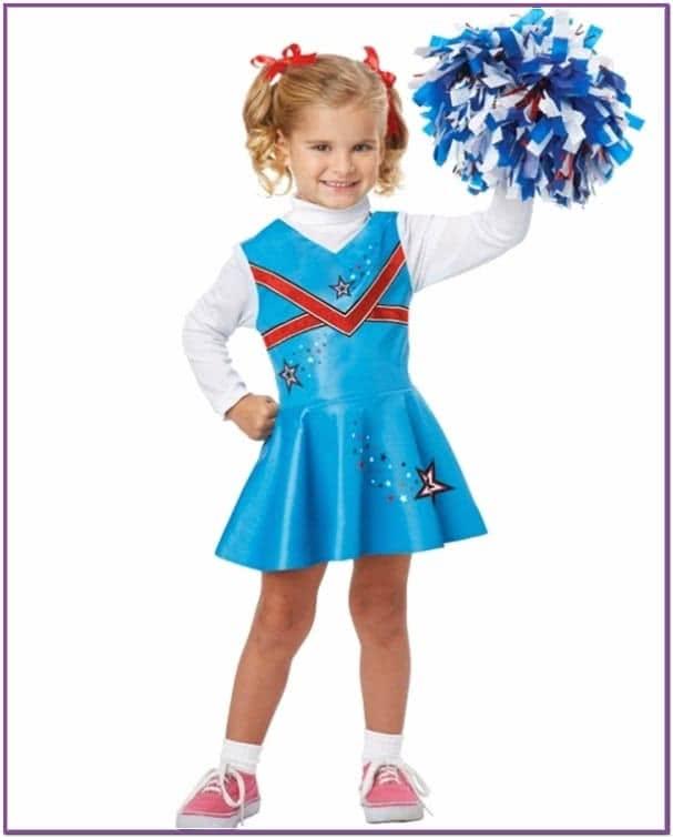 Детский костюм чирлидерши