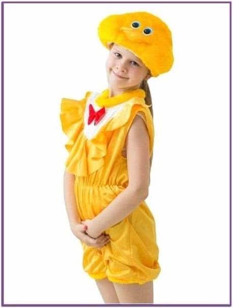Детский костюм цыпочки