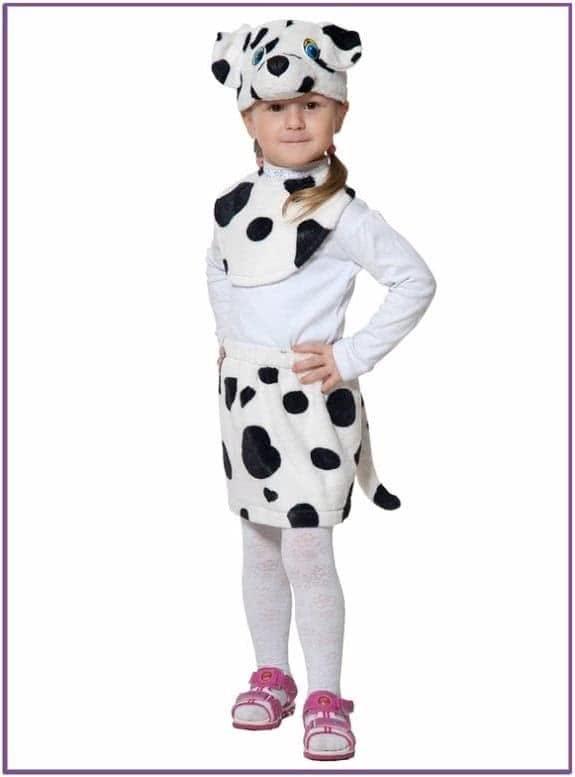 Детский костюм Девочки Далматина