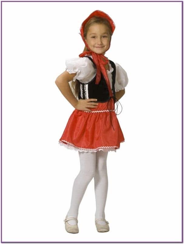 Детский костюм Девочки Красной Шапочки