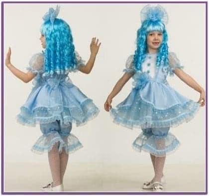 Детский костюм Девочки Мальвины