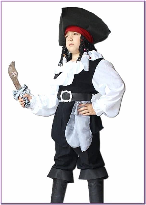 Детский костюм Джека Воробья