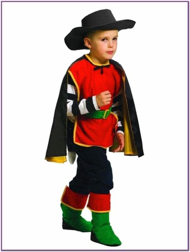 Детский костюм элегантного Кота в сапогах