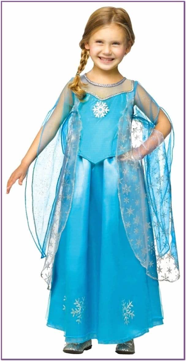 Детский костюм Эльзы