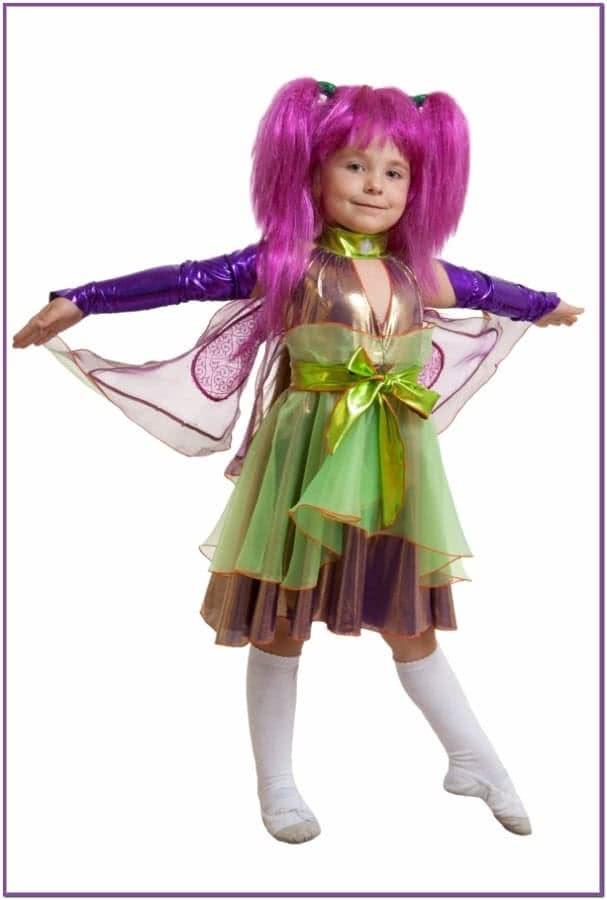 Детский костюм Фиолетовой Феи Виндс