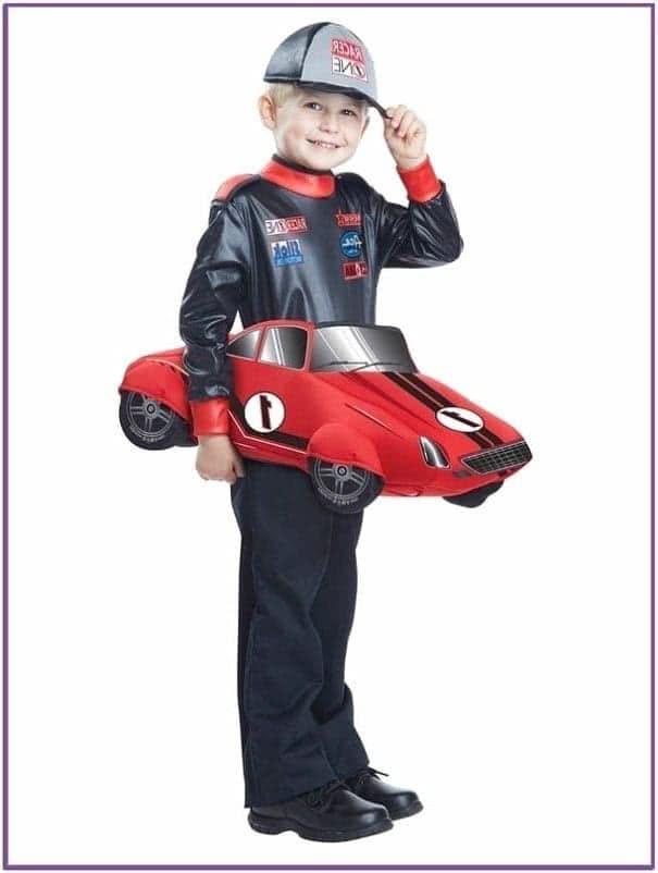 Детский костюм гонщика