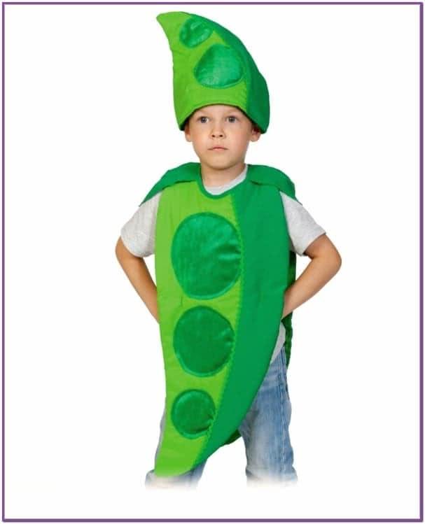 Детский костюм Гороха