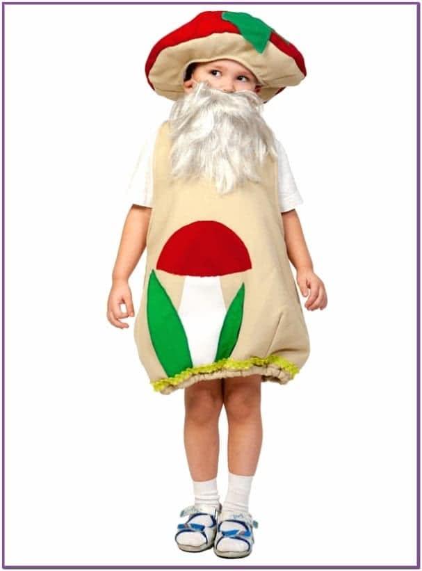 Детский костюм Гриба Боровика