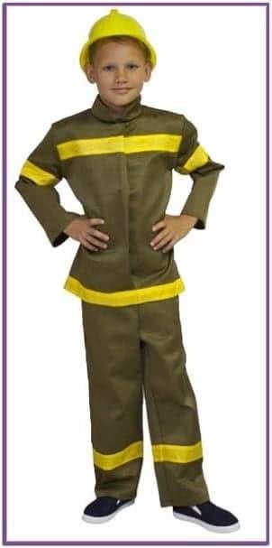 Детский костюм Храброго Пожарного