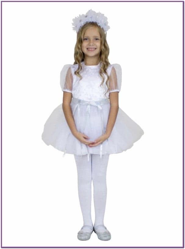 Детский костюм Хрустальной Снежинки