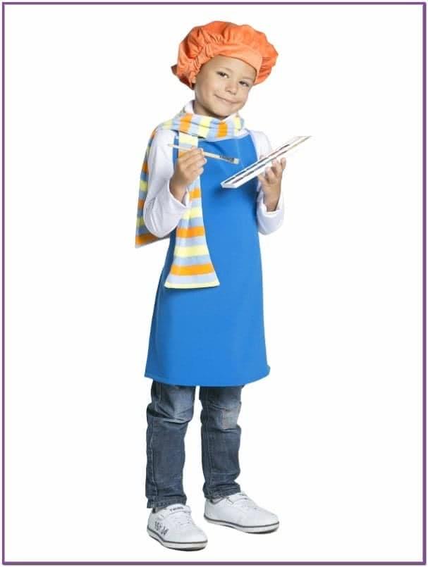 Детский костюм художника